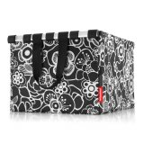 reisenthel Shoppingbox fleur black